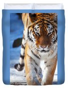 Tiger Strut Duvet Cover