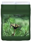 Tiger Swallow Tail Duvet Cover