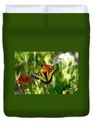 Tiger Tail Beauty Duvet Cover