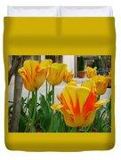 Tiger Tulips Duvet Cover