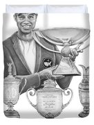 Tiger Woods-decades Best Duvet Cover