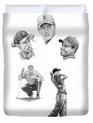 Tiger Woods- Full Circle Duvet Cover