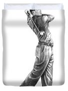 Tiger Woods Full Swing Duvet Cover