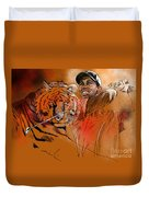 Tiger Woods Or Earn Your Stripes Duvet Cover