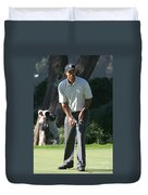 Tiger Woods P Duvet Cover