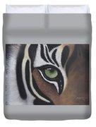 Tiger's Eye Duvet Cover
