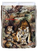 Tigers For Responsible Tourism Duvet Cover