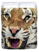 Tigers Pace Duvet Cover