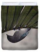 Tightrope Walker Bird Duvet Cover