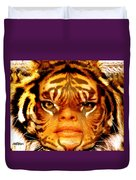 Tigress Duvet Cover