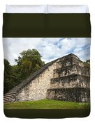 Tikal Mayan Site Guatemala Duvet Cover