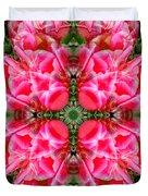 Tiki Tulip Mandala Duvet Cover