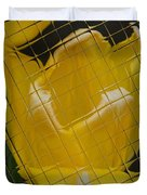 Tiled Yellow Tulip Duvet Cover
