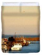 Tilghman Island Maryland Duvet Cover