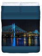 Tilikum Crossing Duvet Cover