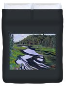 Tim River - Algonquin Duvet Cover