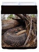 Timber Rattlesnake Duvet Cover