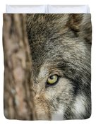 Timber Wolf Picture - Tw285 Duvet Cover