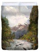Timberlands Duvet Cover