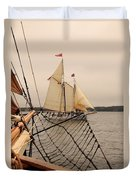Timberwind Off The Bow Duvet Cover