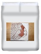 Time - Tile Duvet Cover
