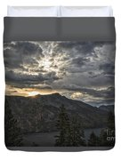 Time And Age Duvet Cover