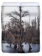 Time And Cypress Duvet Cover