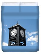 Time And Time Again Duvet Cover