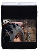 Time Beyond The Grass Duvet Cover