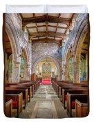 Time For Church Duvet Cover