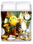 Time In A Jar Duvet Cover