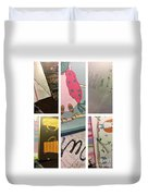 Time  In My Mind  Duvet Cover