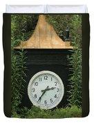 Time In The Garden Duvet Cover
