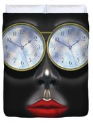 Time In Your Eyes Duvet Cover