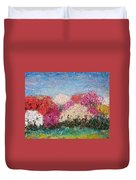 Time Of Rhododendron Duvet Cover