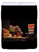 Time Square 1956 Duvet Cover