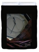 Time Standing Still Duvet Cover