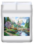 Time To Come Home Duvet Cover
