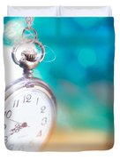 Time To Travel Duvet Cover