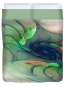 Time Warp Duvet Cover