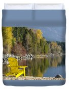 Time Well Wasted II Duvet Cover