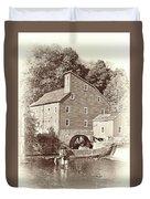 Timeless-clinton Mill N.j.  Duvet Cover