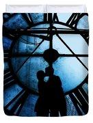 Timeless Love - Midnight Blue Duvet Cover