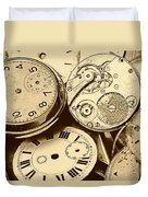 Timepieces Duvet Cover by John Short