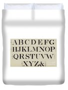 Times New Roman Duvet Cover