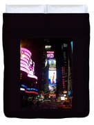Times Square 1 Duvet Cover