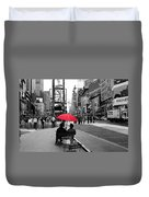 Times Square 5 Duvet Cover