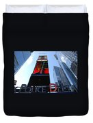 Times Square Cops Duvet Cover