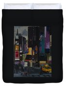 Times Square Crossing Duvet Cover