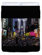 Times Square From The Steps Duvet Cover
